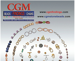 CGM Findings Free 106 page color jewelry supply catalog