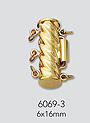 gold multistrand clasps