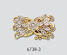 gold diamond clasps