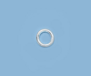 Sterling Silver Jump Ring Closed 022 24ga 3mm