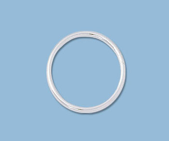 Sterling Silver Large Jump Ring Closed 14mm 18ga Wholesale