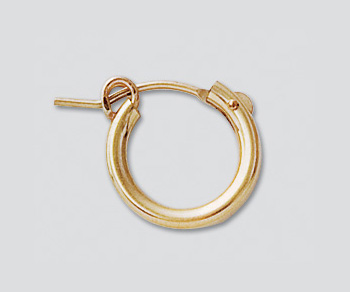 Gold Filled Hoops 2x13mm Wholesale Jewelry Findings