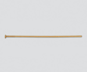 Gold Filled Head Pin 016 26ga 1 5 Inch Wholesale