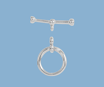 Sterling Silver Toggle Clasp 10 5mm Wholesale Jewelry