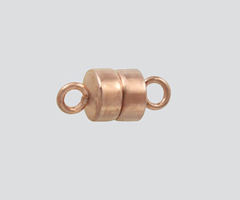 Rose Gold Filled Magnetic Clasp 4 5mm Button Shape
