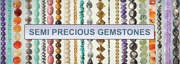 semiprecious gemstone beads