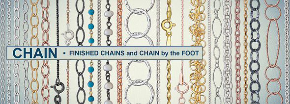 Silver Filled Chain by the Foot Slide 4